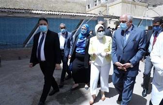 وزيرة الصحة تتفقد سير عمل مبادرة رئيس الجمهورية لمتابعة وعلاج أصحاب الأمراض المزمنة | صور