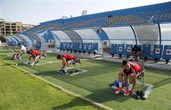 بيراميدز يخوض أول مران استعدادا لاستئناف النشاط الرياضي  صور