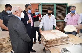 افتتاح مخبز نصف آلى جديد لخدمة أهالي حى الضواحى ببورسعيد | صور