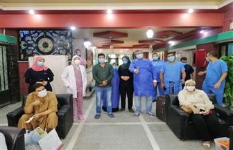 مستشفى قنا العام: خروج وتعافي 58 من المصابين بفيروس كورونا | صور