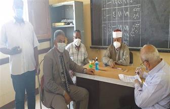 مدير منطقة الأقصر الأزهرية يتابع امتحانات الثانوية | صور