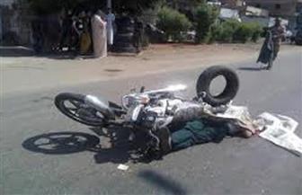 مصرع مواطن في حادث تصادم سيارة نقل بموتوسيكل على طريق بورسعيد ـ دمياط