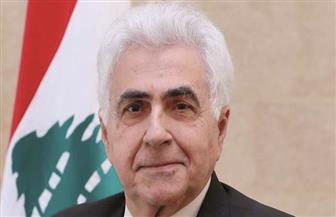 """وزير الخارجية اللبنانية ناصيف حـتي لـ """"الأهرام"""": استقرار لبنان مصلحة عربية ودولية"""