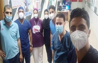 تعافي 128 مصابا بفيروس كورونا بمستشفيات العزل بطور سيناء | صور