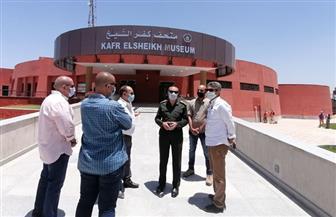 متحف كفر الشيخ يستقبل مجموعة من القطع الأثرية الضخمة| صور