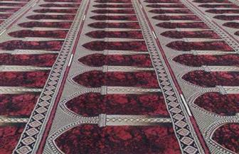 الأوقاف تبدأ وضع علامات التباعد في المساجد استعدادا لفتحها السبت المقبل | صور