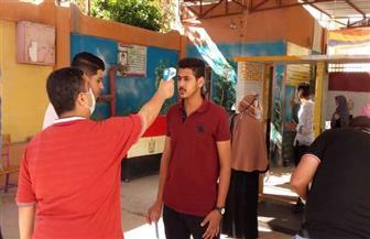 10253 طالبا وطالبة بدمياط يؤدون امتحانات اللغة الإنجليزية  في 41 لجنة | صور