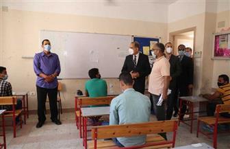 محافظ كفرالشيخ يتفقد لجان امتحانات الثانوية  الأزهرية | صور