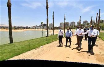 مسئولو الإسكان يتفقدون مشروع تطوير بحيرة عين الصيرة بمحافظة القاهرة | صور