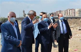 وزير التنمية المحلية ومحافظ القليوبية يتفقدان محاور وطرق مشروع مجمع التكسير الهيدروجيني للمازوت بمسطرد | صور