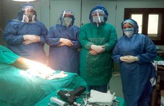 جراحات نادرة لمرضى فيروس كورونا بالمستشفيات التعليمية| صور