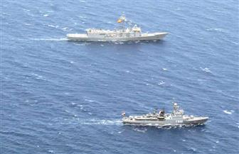 القوات البحرية المصرية والإسبانية تنفذان تدريبا بحريا عابرا بنطاق الأسطول الجنوبي بالبحر الأحمر