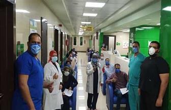 تعافي 20 مصابا من كورونا وخروجهم من مستشفى العزل جنوب الأقصر| صور