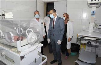 نائب محافظ سوهاج يتفقد مستشفى طما المركزي ويطمئن على توافر المستلزمات الطبية| صور