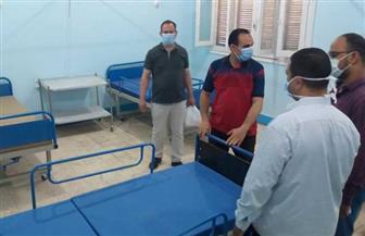 وكيل وزارة الصحة بسوهاج يتفقد تطوير مستشفى حميات جرجا  صور