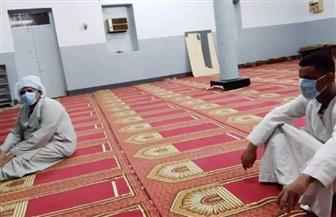 مواطنو أسوان يؤدون أول صلاة فجر بعد إعادة فتح المساجد