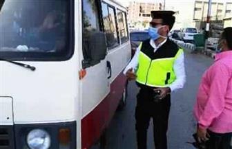 اتخاذ الإجراءات القانونية ضد 2544 سائق نقل جماعي لعدم الالتزام بارتداء الكمامات الواقية