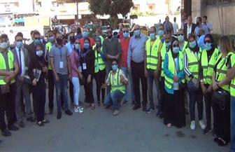 «مستقبل وطن» بالإسكندرية يواصل مبادرة «بأيدينا نحمي بلادنا وأهالينا» بالمنتزه أول | صور