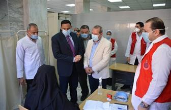 انطلاق مبادرة الرئيس السيسي لعلاج الأمراض المزمنة بالدقهلية واستهداف 700 ألف مواطن| صور