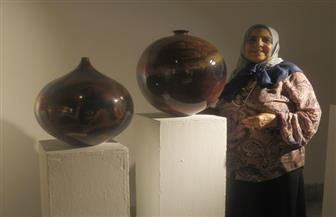 الفنانة سلوى رشدى لـ«بوابة الأهرام»: البحث في فلسفة رواد الخزف المصرى «مشروعى الراهن»   صور