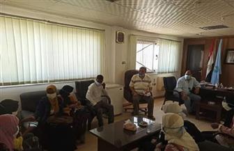 توفير أتوبيس وسكن لطلاب الثانوية بقرية الشيخ الشاذلي خلال فترة الامتحانات   صور