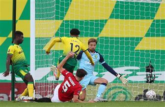 مانشستر يونايتد إلى نصف نهائي كأس الاتحاد بعد فوز صعب على نورويتش