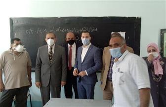 محافظ كفرالشيخ يتفقد لجان الثانوية العامة ويشيد بأعمال التعقيم والتطهير والتأمين | صور