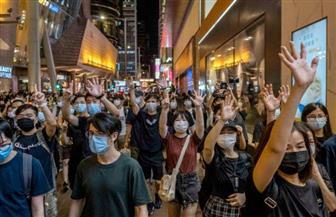 سكان هونج كونج يخرجون في مسيرة صامتة احتجاجا على قوانين الأمن القومي الصينية