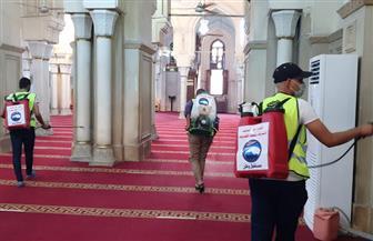 مستقبل وطن بقنا: تطهير وتعقيم  100 مسجد وكنيسة بكافة المراكز|صور