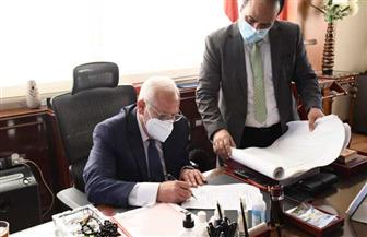 محافظ بورسعيد يعتمد نتيجة مدارس التمريض بنسبة نجاح 100%  صور