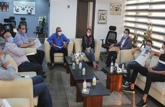 بعد اجتماع «الخماسية» مع مدربي المنتخبات: «الإعلان عن موعد استئناف الدوري الخميس» |صور