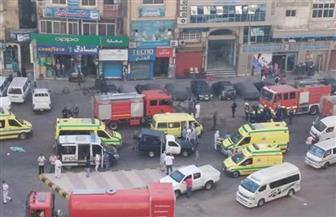 """أسفر عن مصرع 7 مصابين """"بكورونا"""".. النيابة تعاين آثار حريق مستشفى الإسكندرية"""