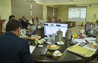 مجلس جامعة الوادي الجديد يناقش الاستعدادات لامتحانات نهاية العام | صور