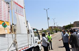 محافظ أسوان يتفقد قافلة المستلزمات الطبية والوقائية المقدمة من صندوق «تحيا مصر» | صور