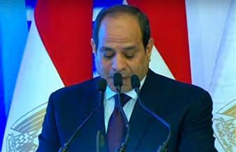 الرئيس السيسي: أتوجه بالتحية والتقدير لأرواح شهدائنا الأبرار