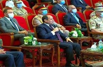 الرئيس السيسي: أعتز وأفتخر بما شهدته اليوم من أداء متميز ونتائج مبهرة لعمليات التطوير والبناء في القاهرة