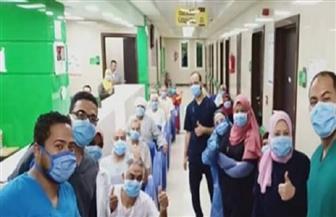 خروج 18 من حالات التعافي من «كورونا» بمستشفى  إسنا جنوب الأقصر | صور
