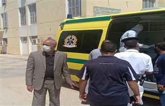 تعافي 77 مصابا بفيروس كورونا من مستشفى الوقف المركزي بقنا | صور