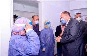 محافظ أسيوط يفتتح مستشفى عزل منفلوط بطاقة 45 سريرا | صور
