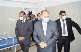 """""""مستقبل وطن"""" أسيوط يفتتح مستشفى العزل بمنفلوط لمواجهة كورونا"""