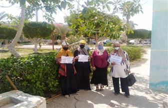 58 رائدة صحية تشارك في حملة «احميها من الختان» لتوعية الأهالي بالشيخ زويد وبئر العبد