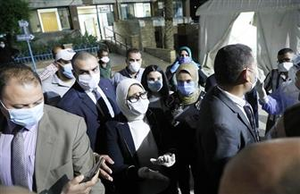 الصحة: توفير 35 ألف سرير بالمستشفيات لاستقبال الحالات المصابة بفيروس كورونا المستجد  صور