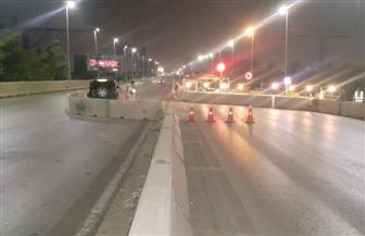 تحويلات مرورية علي محور 26  يوليو أعلى منطقة المنصورية لإجراء إصلاحات| صور