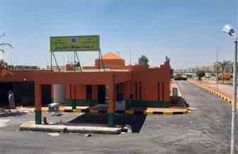 رئيس جهاز الشروق: تشغيل مقر خدمة عملاء شركة غاز مصر وتطوير وحدة إسعاف ومدخل السويس (2)