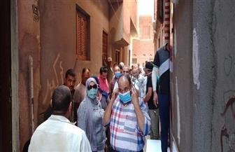 تشكيل لجنة متخصصة من كلية الهندسة لفحص عقارات ميت أبو الحارث المتصدعة | صور