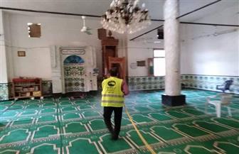 تطهير وتعقيم المساجد بواحة باريس في الوادي الجديد | صور