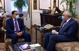 رئيس الوزراء يلتقي السفير العراقي لدى القاهرة