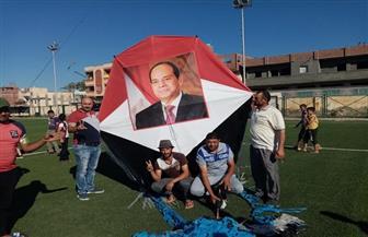 طلائع الشباب والرياضة بدمياط يحتفلون بذكرى ثورة 30 يونيو بالأشعار الوطنية والطائرات الورقية | صور