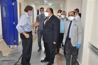 """رئيس الوزراء يستعرض تقريرا بإمكانات وجهود وزارة التعليم العالي لمواجهة فيروس """" كورونا""""  صور"""