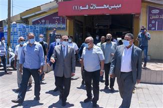 محافظ الإسكندرية يأمر بالتحقيق الفوري في مخالفات بالموقف الجديد | صور